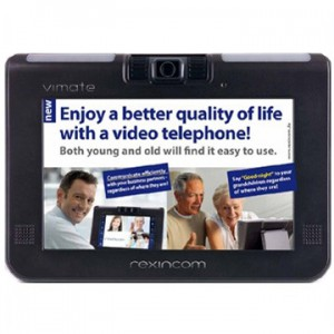 VIMATE Video Phone (Touchscreen, WLAN, Bluetooth)