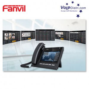 Fanvil Introduces New C400 / C600 Smart Video IP Phone with revolutionary design and compact appearance